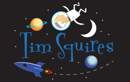 Tim Squires in space