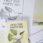 Only The Empty Sky sketches, finished art and printed book.
