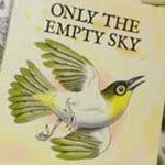 Only The Empty Sky: Book cover and website design for author Russell Kelly