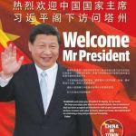 Welcome Xi Jinping.