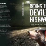 Riding the Devil's Highway, a book jacket for Donald Knowler, designed by Tim Squires