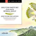Website for Only The Empty Sky.