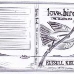 First cover art concept sketch for a novel by Russel Kelly.