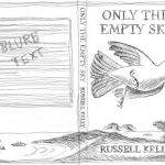 Only The Empty Sky second cover art sketch to scale.