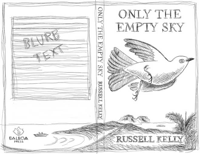 concept sketch by Tim Squires for Only the Empty Sky by Russell Kelly
