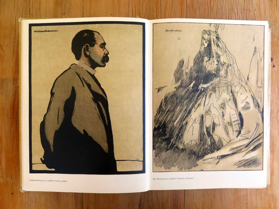 Illustrations by William Nicholson from the 1956 Golden Jubilee edition of the Penrose Annual.